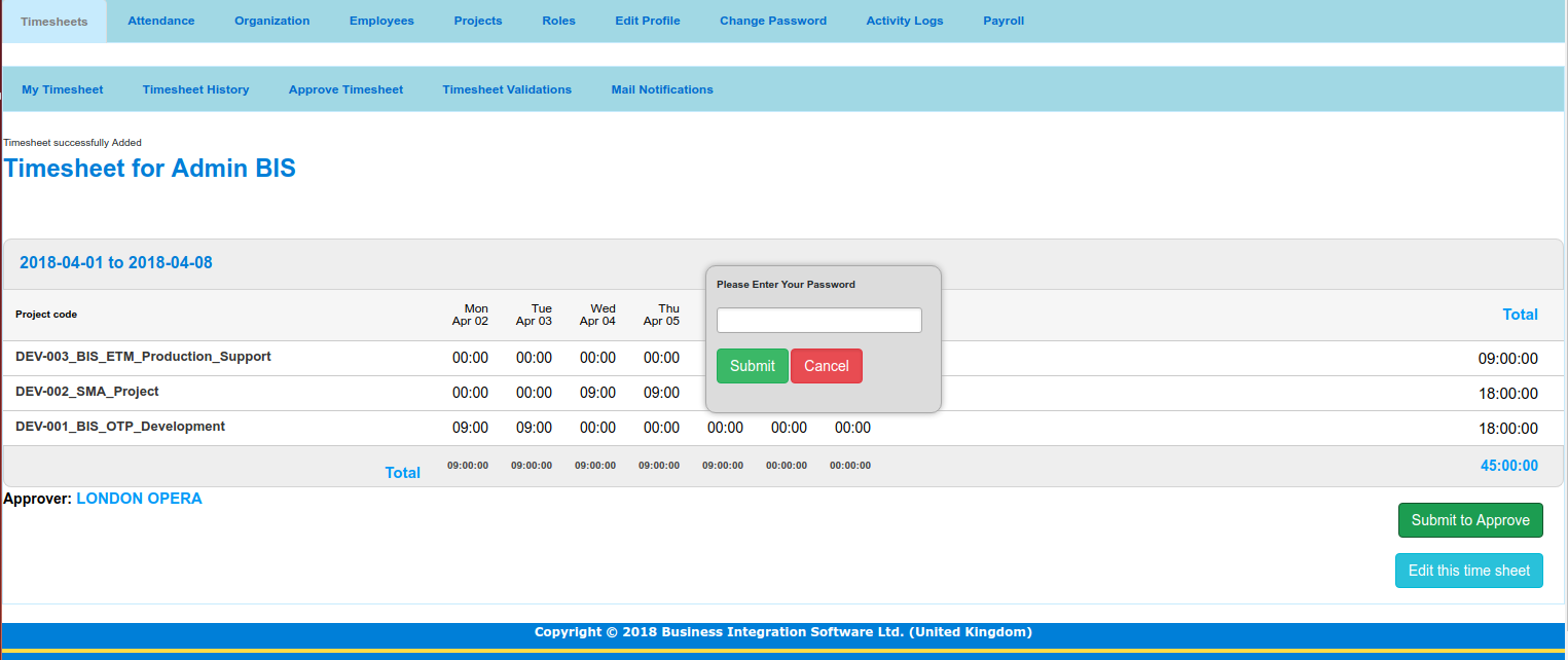 Timesheet Software For Small Business