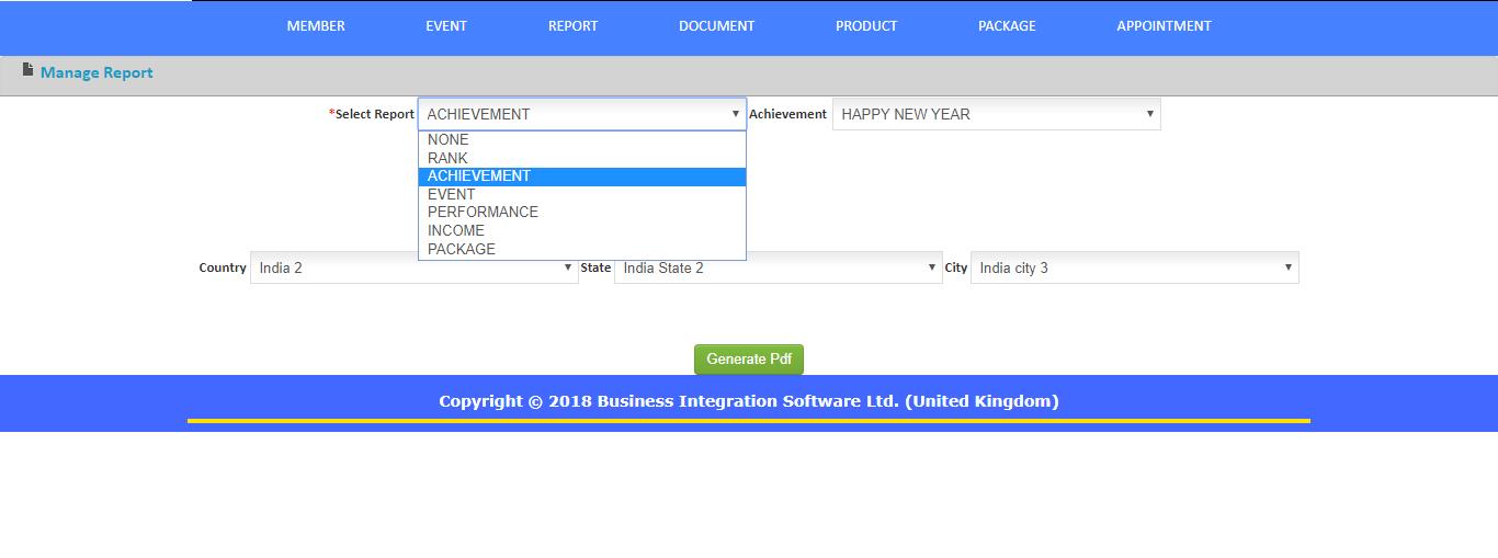 Executive Team eManagement Software